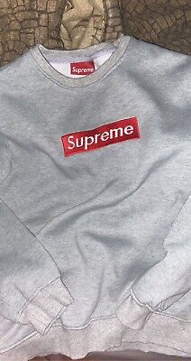 $ CDN166.67 • Buy Supreme Box Logo Crewneck Small / PLZ READ