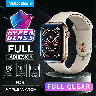 AU10.99 • Buy MaxShield Screen Protector Fr Apple Watch Series 3/4/5/6 SE 38/42 40/44mm IWatch