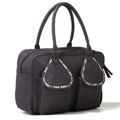 AU67.09 • Buy Tribal Baby Changing Luxury Baby Nappy Bag Saffier Anthracite Travel Accessory