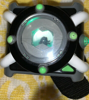 Ben 10 Deluxe Omnitrix Watch Light Up Sounds Talking Wrist Playmates Toys 2017 • 20.09£