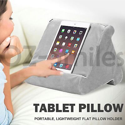 AU14.95 • Buy Tablet Pillow Stand For IPad Phone Reading Bracket Holder Cushion Pad Portable