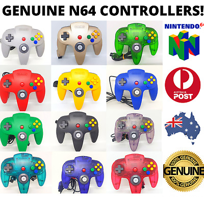 AU49.95 • Buy Genuine Nintendo 64 N64 Controller Awesome Joysticks! FREE POST! 🇦🇺 Official🎮