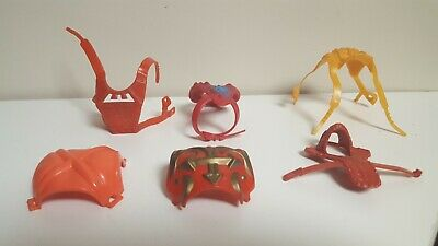 $49 • Buy Vintage He-Man MOTU Parts Armor, Weapons Lot Accessories Masters Of The Universe