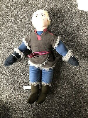 21  Soft Plush Doll Toy - Kristoff - Disney Frozen - VGC • 1.30£