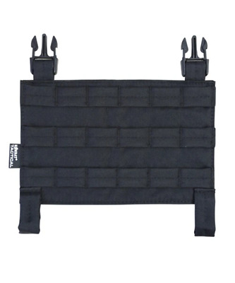 Kombat UK Buckle-Tek MOLLE Panel - Black Military Style • 11.99£