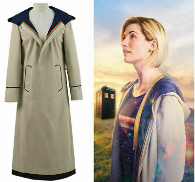 13th Female Doctor Who Cosplay Costume Coat 13th Doctor Jodie Cosplay Costume • 36.99£