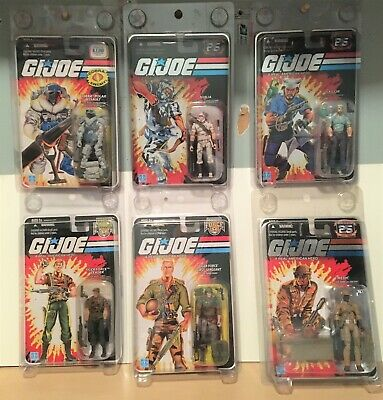$ CDN166.75 • Buy GI Joe 25th Anniversary Figures Lot Of 6 With Protecto