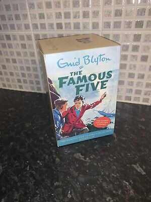 Enid Blyton The Famous Five Classic Collection Books 1-10 Book Set - Vgc • 12.99£
