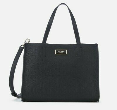 $ CDN170 • Buy Kate Spade Sam Crossbody Purse Black Leather Satchel