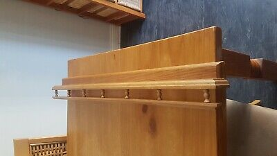 Wall Mounted Wooden Plate Rack • 7.99£