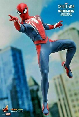 $ CDN440.97 • Buy Hot Toys SPIDER-MAN ADVANCED SUIT 1/6 Figure VGM031 PS4 With PARKER HEAD SCULPT
