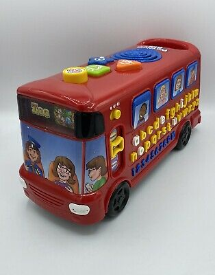 Vtech Playtime Bus Toy Interactive With Phonic Sounds Music Childrens Kids • 13.99£