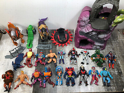$142.50 • Buy Vintage MOTU Masters Of The Universe Lot Of Action Figures Vehicles & Play Sets