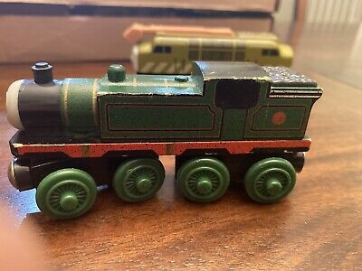 Diesel 10 And Whiff. Thomas And Friends. Wooden Trains. Lot Of 2 • 10.03£