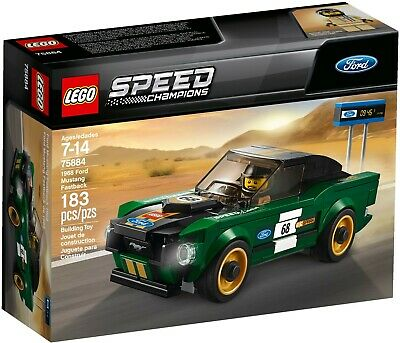 AU48 • Buy  Lego 75884 Speed Champions 1968 Ford Mustang Fastback - New (Free Shipping)