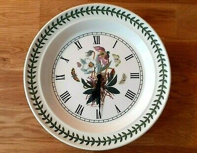Portmeirion Botanic Garden Christmas Rose Wall Clock • 12.50£
