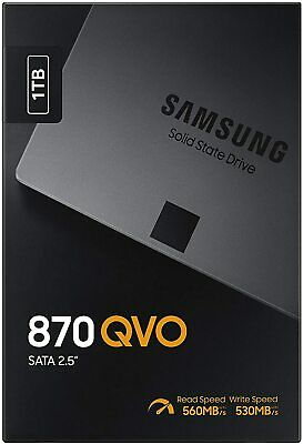 Samsung 870 QVO 1TB, SSD Brand New Sealed UK Packaging, NEW!! MZ-77Q1T0 • 99.95£