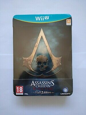 Nintendo Wii U - Assassins Creed IV Black Flag Skull Edition New & Sealed PAL • 52.99£