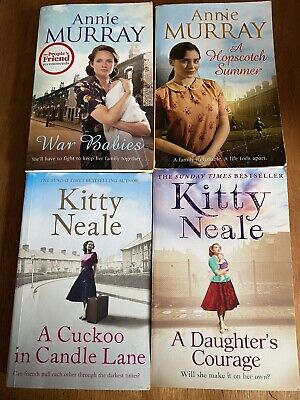 Joblot Of 4 Books By Annie Murray & Kitty Neale • 5.50£