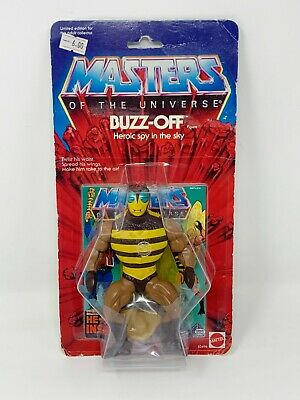 $59.35 • Buy BUZZ-OFF Masters Of The Universe Commemorative He-Man MOTU Action Figure MOC