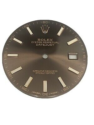 $ CDN657.78 • Buy Rolex DateJust 41 Mens Chocolate Rose Gold Dial Oyster Jubilee 126331 126301