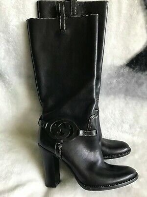 Gucci Leather Boots Size 35c Uk 2.5 • 45£