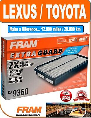 $13.95 • Buy FRAM CA9360 Air Filter Extra Guard 2X Engine Protection For Toyota Lexus Vehicle
