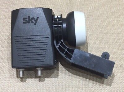 Genuine Sky Q Wideband Twin LNB - Model No. EL020 (New Other) • 7.99£