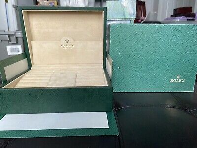 $ CDN357.88 • Buy GENUINE Rolex Watch Box Case 70.00.02, Complete Set, Mens Day-Date President