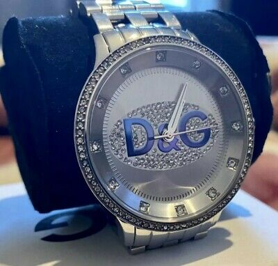 Dolce&Gabbana Prime Silver Time Wrist Watch Excellent Condition  • 49.99£