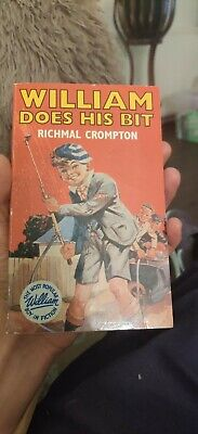 Richmal Crompton William Does His Bit 1st / 3rd 1942 Paperback Jacket • 9.95£