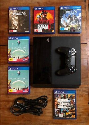 AU450 • Buy Original PS4 500GB W/Controller And 5 Games