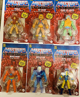 $169.98 • Buy 2020 Masters Of The Universe Origins Complete Set Of 6 Figures He-Man Unpunched