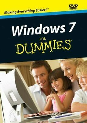Windows 7 For Dummies By Andy Rathbone (2009, DVD) • 5.26£