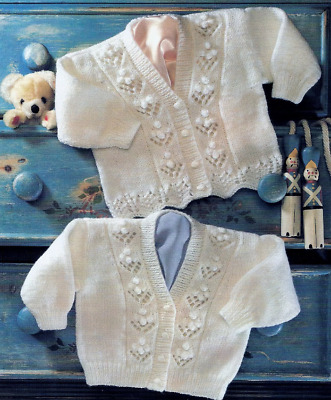 £2.79 • Buy Lacy Cardigans Girls Knitting Pattern 16-24' In Double Knitting E24