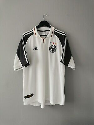 Germany Football Shirt Euro 2000 Home Adidas Mens XL Good Condition • 0.99£