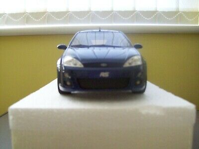 Otto 1/18 Scale Model Ford Focus RS MK1 IN BLUE VERY RARE • 295£