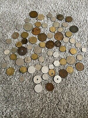 Various UK And Foreign Coins • 10£