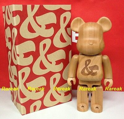 $2888.99 • Buy Medicom Be@rbrick 2015 Karimoku Wood House Industries 400% Sync Wooden Bearbrick