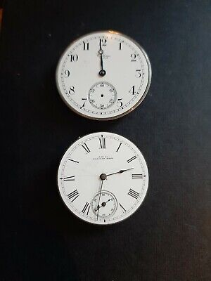 2 Vintage Waltham Pocketwatch Movements. A.W.co And H.w.w.co 24046924 & 4657345 • 19.99£