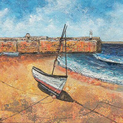 Original Art -  St Ives Harbour  Cornwall Painting • 55£