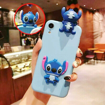 AU6.96 • Buy Classic Stitch Hot Popular Cute Cartoon Toy Silicon Case Cover For Various Phone