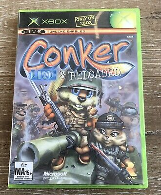AU15 • Buy Conker Live And Reloaded - XBOX  With No Manual