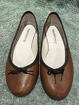 Shoes Ladies Ballet Flats/Pumps Russell & Bromley Tan Size 2/34 Worn Once FAB • 19£