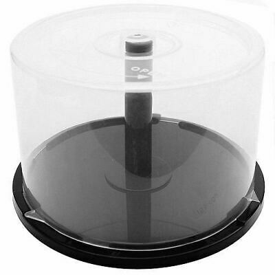 AU19.78 • Buy Empty CD DVD Blu-Ray Spindle Cake Box Storage Container Case Holds 50 Discs