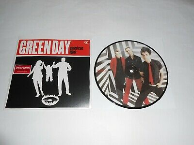 Green Day - Ltd Edition 7  Picture Disc  American Idiot  Mint Condition • 14.99£