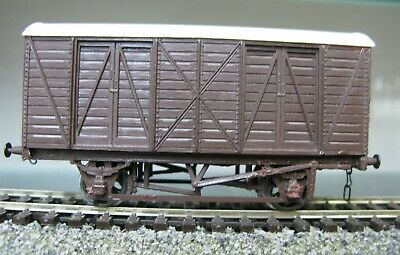 Finescale Kit Built Colin Ashby S6 Gwr Fish Van (lot 90) • 15.99£