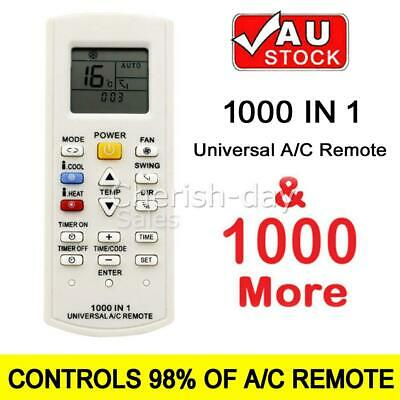 AU22.95 • Buy Universal A/C Air Conditioner Remote For Centrex Fujitsu LG Carrier All Brands Z