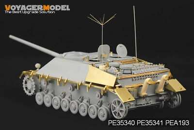 PE For German Jagdpanzer IV Fenders (For DRAGON KIT) , 35341, 1:35, VOYAGERMODEL • 13.39£