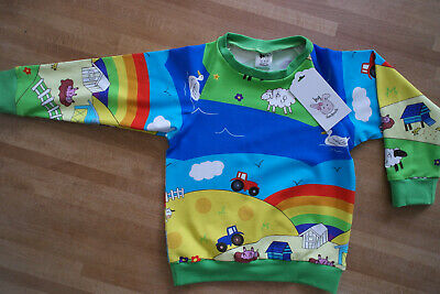 Organic Baby And Kids T-Shirt, Unisex Baby Clothes,Rainbow Clothes, Handmade • 15£